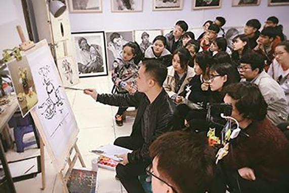 郑州美术联考集训艺考培训收费标准