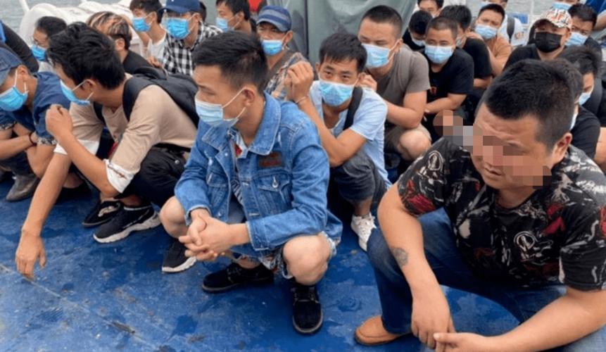 水路不通,36名中国人从福建偷渡进西港;卫生