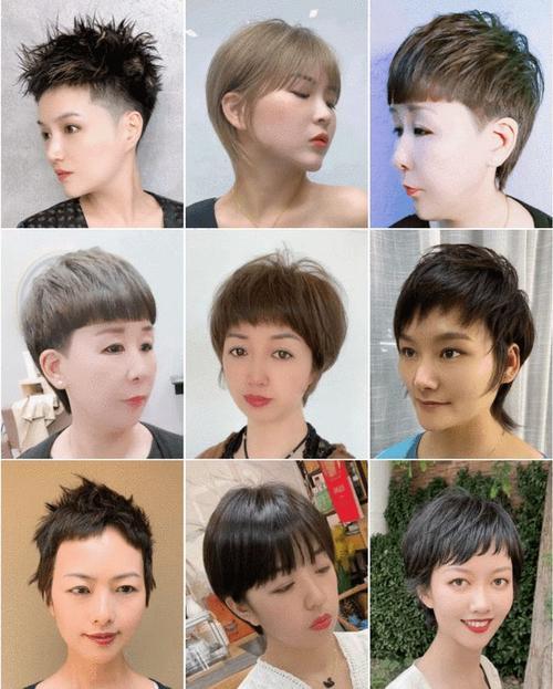8月女发大全,有长有短任你选,利落时尚大不一样|发型