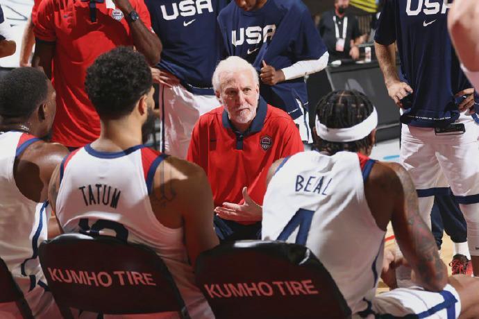 nba奥运会美国