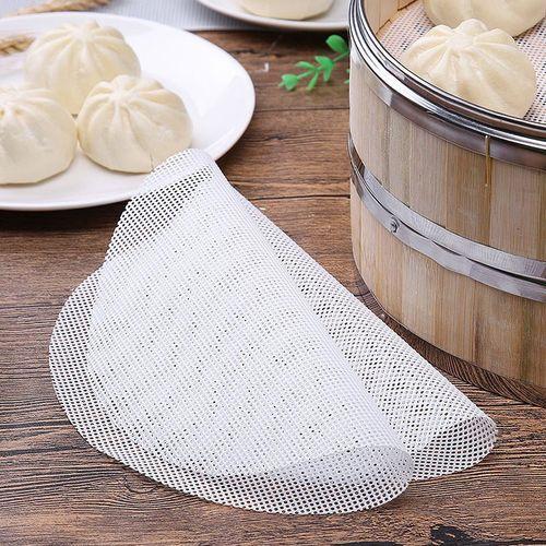 食品级硅胶蒸包子蒸笼垫蒸笼布蒸布不粘屉布蒸馒头不