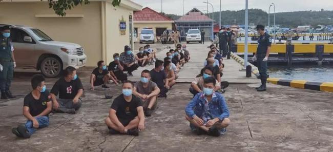36名中国人从福建偷渡到西港!