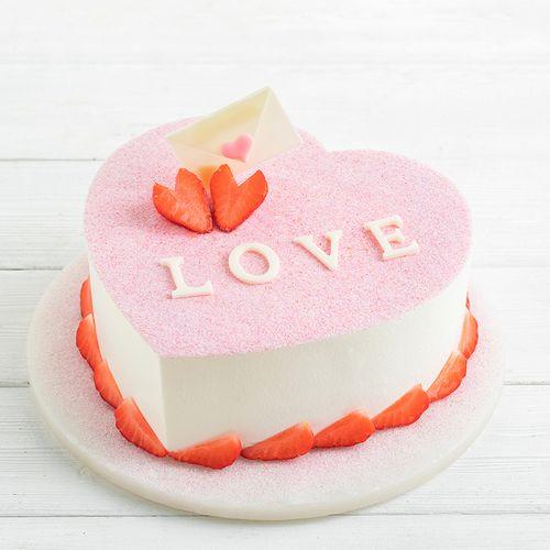 【会员特惠178元】爱的告白-节专款蛋糕(延安)
