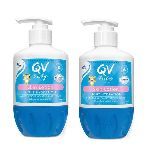 ego qv意高小婴儿润肤乳面霜儿童保湿润肤露身体乳轻薄夏季qv桃子