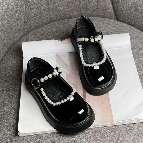 女生夏季黑色鞋