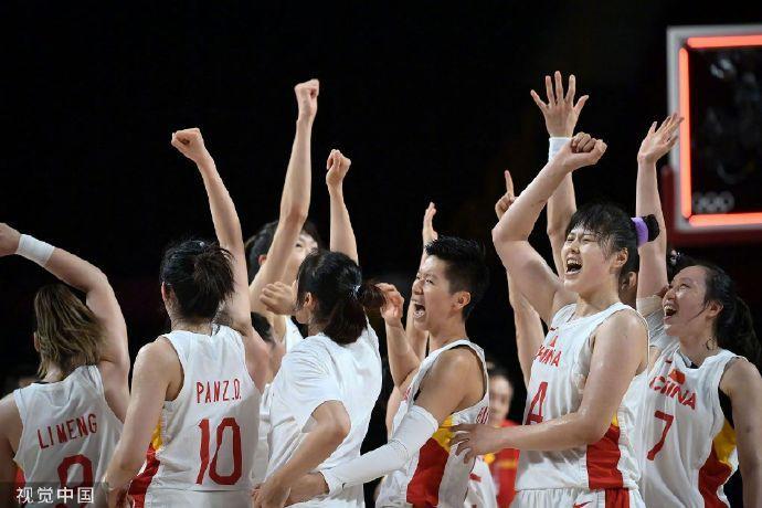 篮球进奥运