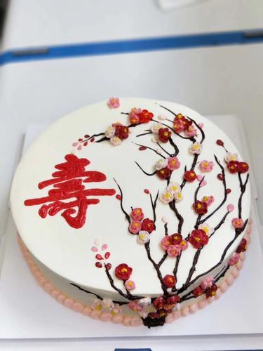 寿蛋糕(淡奶油)
