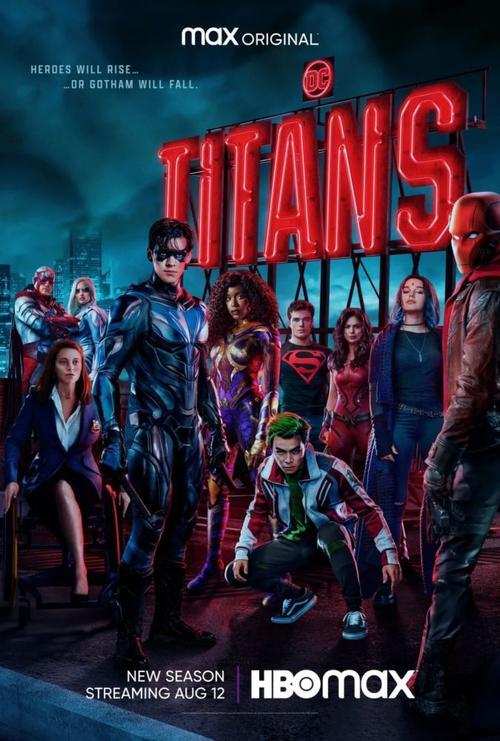 dc美剧《泰坦》发布第三季曝光中字预告预告,伊恩·格雷扮演的蝙蝠侠